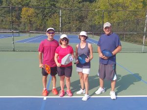 Intermediate Mixed Howard County Doubles Tournament Finalists