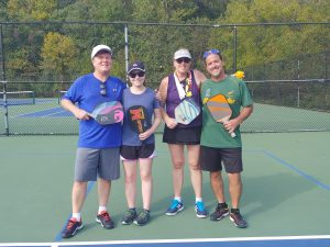 Advanced Mixed Howard County Doubles Tournament Finalists